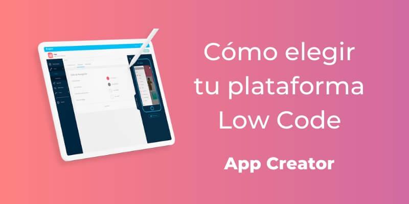 cómo elegir un app creator