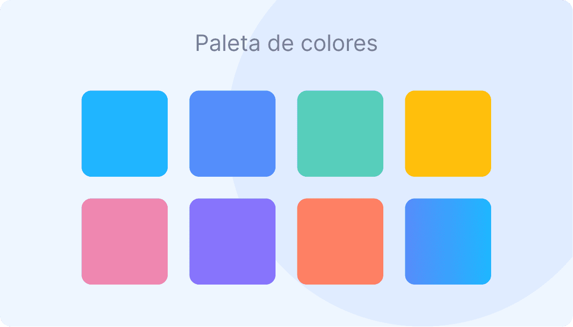 Paleta de colores de Scoreapps