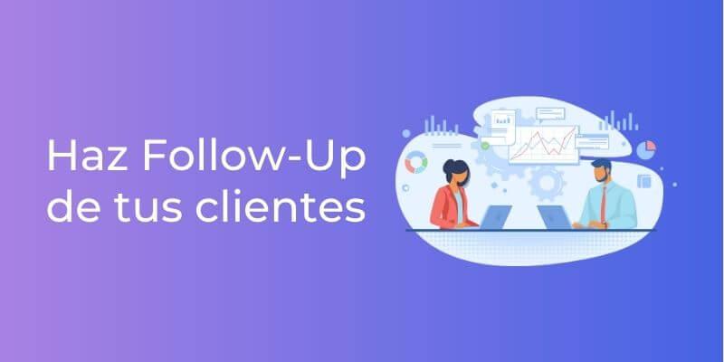 follow up a tus clientes