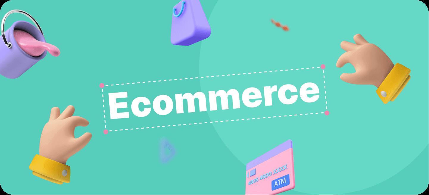 Imagen animada del proceso de optimización de una plataforma de ecommerce