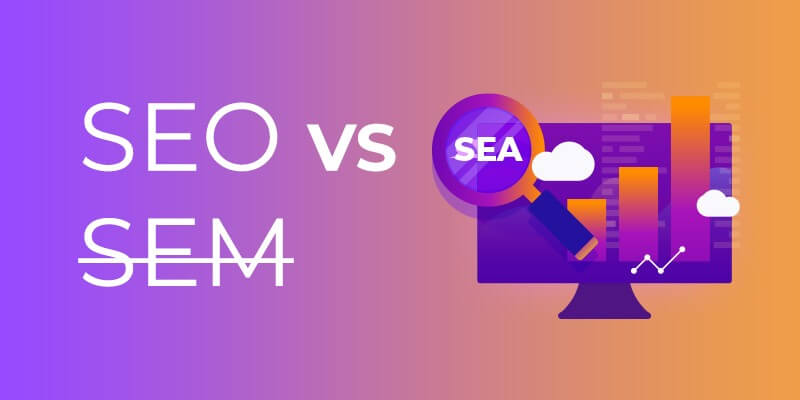SEO vs SEM. Por qué se utiliza SEM cuando en realidad se quiere decir SEA.