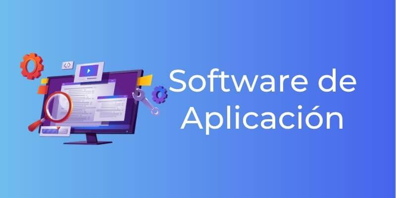 Una pantalla de un ordenador con distintos elementos de una web para representar el software de aplicación