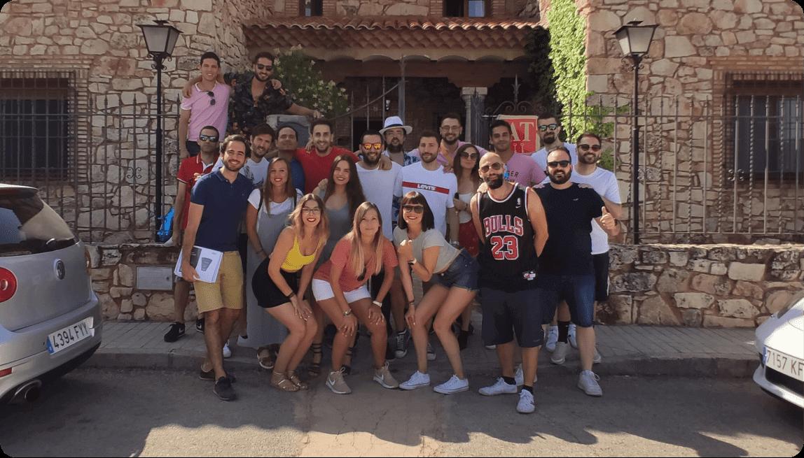 Fotografía del equipo de Scoreapps en el Summer Retreat de 2019